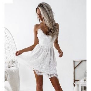 Dresses & Skirts - jaus white dress